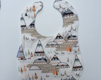 Stone Mountain Baby/Toddler Bib