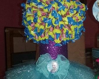 Frozen Gum Candy tree (centerpiece)