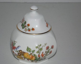 Aynsley SOMERSET Fine Bone China  England jar with lid