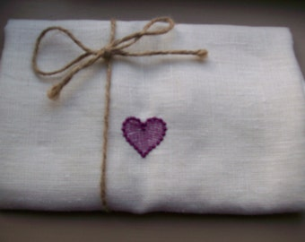 Linen towel 145cm wide x 1.00m