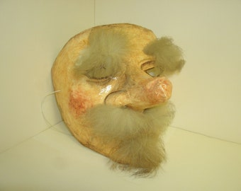 Hairy, Old Man Mask