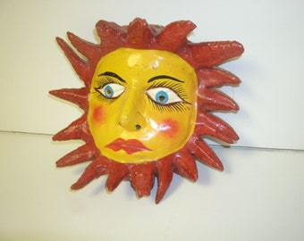 Sun Mask Wall Hanging