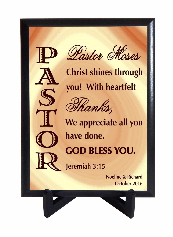Pastor Appreciation day Gift Gift for Priest Custom Pastor
