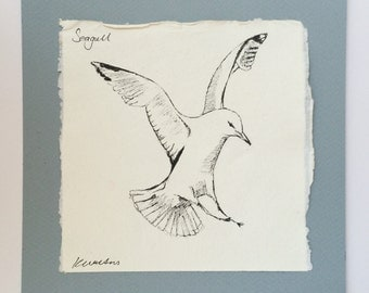 Seagull Ink Sketch