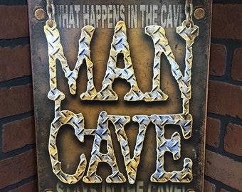 Man Cave Tin Sign