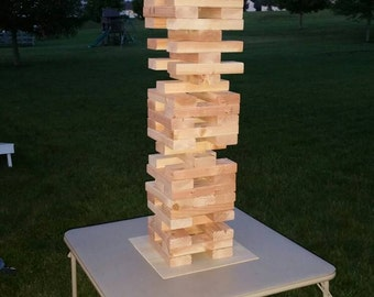 Yard Jenga  (read description for shipping info)