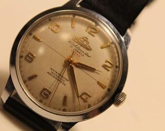 Swiss Men's Wrist Watch Atlantic Worldmaster 1950s.VINTAGE ATLANTIC WORLDMASTER .Swiss Watch Perfect And Working Condition 1950!!!