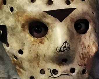 Friday The 13th Jason Voorhees Part 7 blank mask