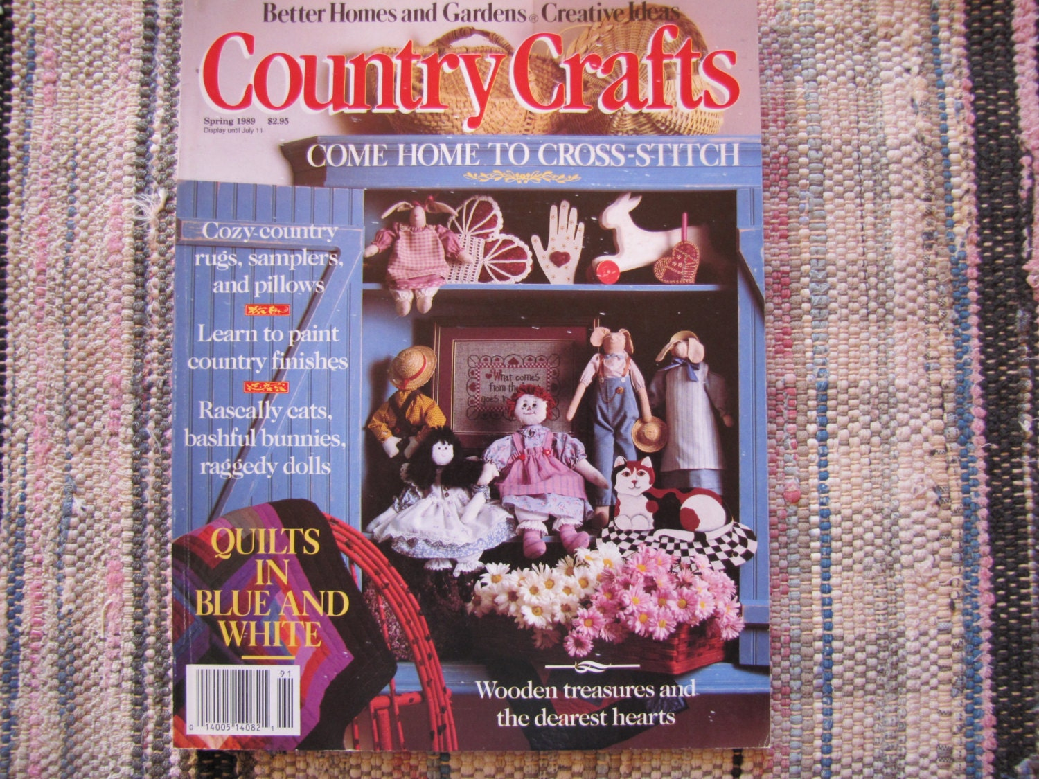 Cross stitch country crafts magazine back issues - Sold By Dandeedion