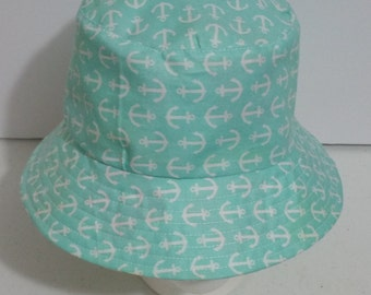 Baby Reversible Sun/Bucket Hat Size 12-24 Months