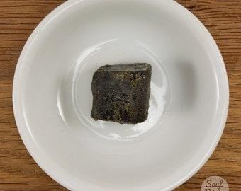 Black Amber Resin Solid Chunk Piece Natural Perfume 5 grams