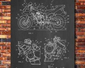 Patent of Yamaha Motorcycle 2007