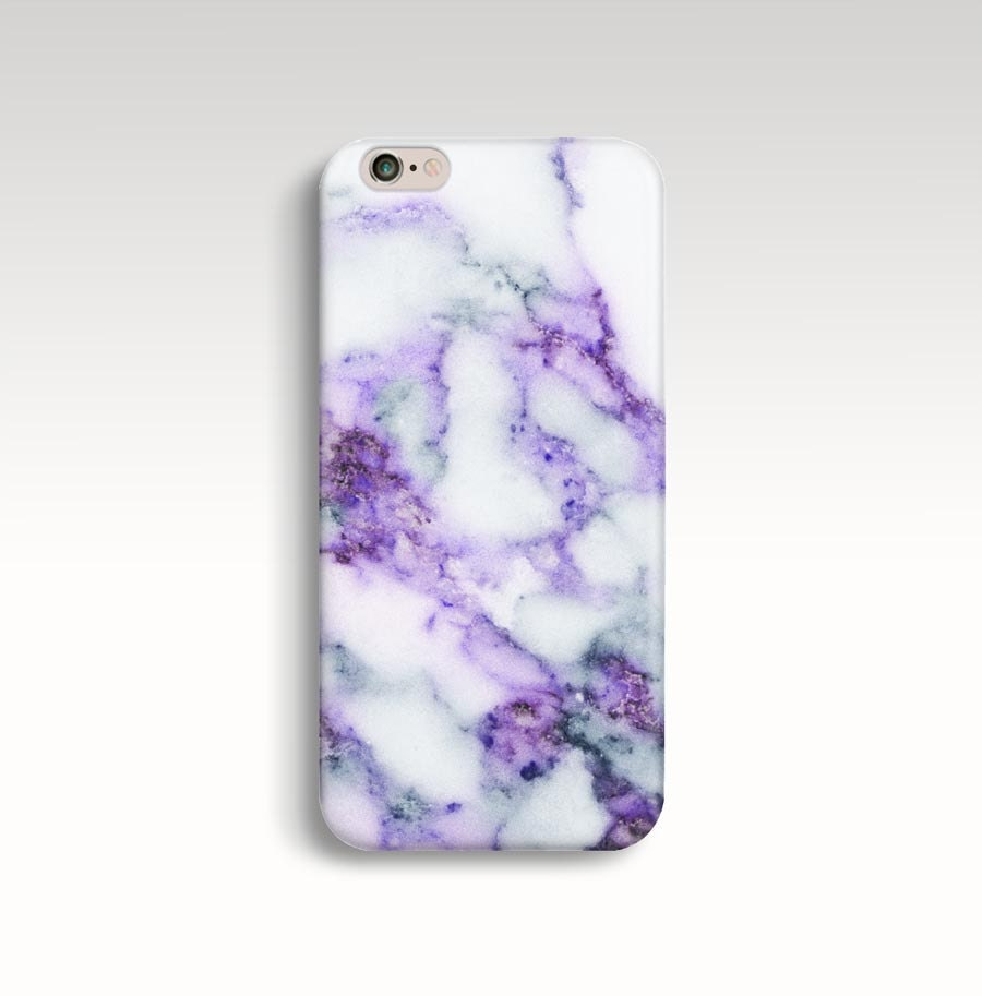 Marble iPhone 7 Case, Purple Marble iPhone 6s Case iPhone 6 Case ...