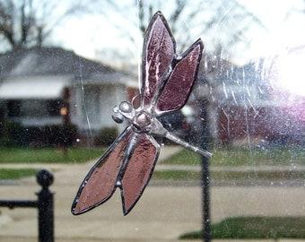 Lavender Dragonfly Suncatcher