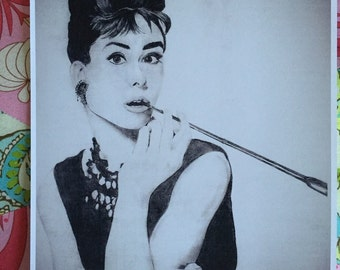 Audrey Hepburn Drawing