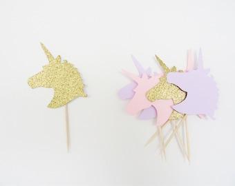 Unicorn Cupcake Topper, Unicorn Party, Unicorn First Birthday, Unicorn 1st Birthday, Unicorn Party Decorations, Unicorn Party Supplies