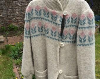 Vintage cardigan coat
