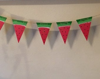 Watermelon Party Banner