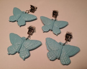 Table cloth / curtain weights butterflies