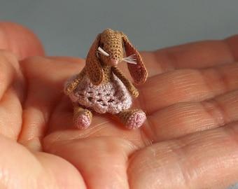 Crochet mini Bunny, Snoesje