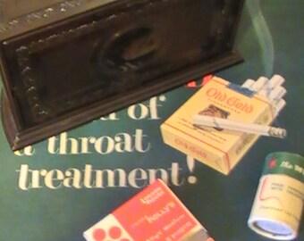1920's Roto-Tray Cigarette Humidor