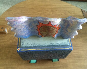 Randi art, Handmade jewelry box, Unique box, jewelry box, puzzle box, wooden box, gift, unique gift