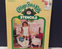 1984 Cabbage Patch Kids Stencils No. 26602 Ain't She Sweet