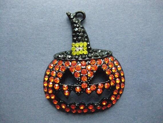 large pumpkin charm pumpkin pendant charm