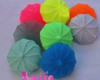 Meringue Cookie Soap - Bakery Soap - Dessert soap -  Neon Soap - Food soap - handmade soap - Novelty Soap - Sandwich Cookie - Teen Girl Gift