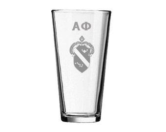 Alpha Phi Mixing Glass
