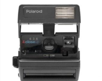 Items Similar To Navy Blue Polaroid Onestep Express Camera