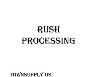 Rush Order Processing at Town Supply