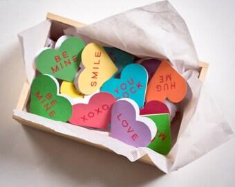 PRINTABLE :  Sweethearts Mini Valentine Cards