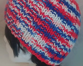Red, White and Blue Beanie