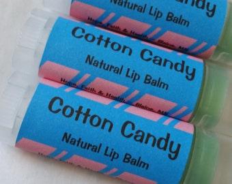 Cotton Candy Natural Lip Balm