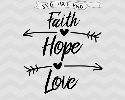 Download Faith svg Hope svg Love svg Easter svg Christian Svg ...