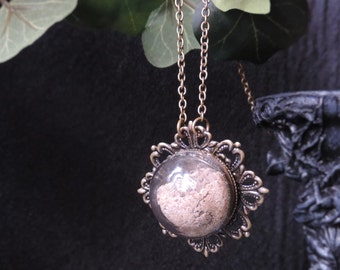 """Collar mid-length steampunk """"Sands of Time - multiple edition"""""""