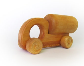 Wooden Car Toy - Eco-Friendly Wood Truck Toy for Babies - Montessori Toy - Gift for a Boy - Push Toy - Wooden Toy for Babies - Baby Toy
