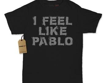 Women's I Feel Like Pablo Shirt Printed 2016 Hip Hop Album T-shirt #1270 By Expression Tees Trending Clothing / Apparel Usa Seller