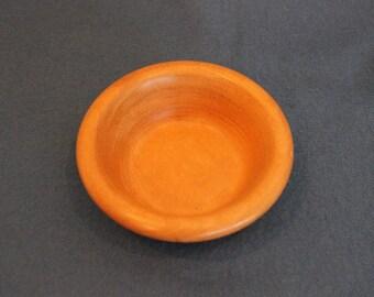 Small mahogany dish