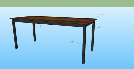 Narrow Mahogany Walnut Dining table With Ash by  : il570xN1019012982ad25 from www.etsy.com size 570 x 297 jpeg 15kB