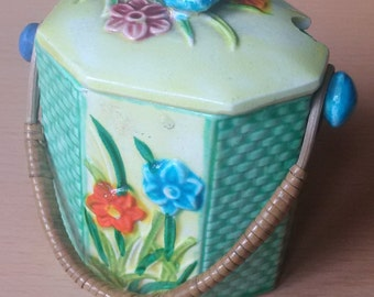 Cottage Ware klimax Hand Painted Pot
