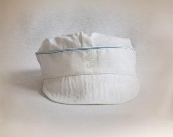baptism hat, christening boys cap, baptismal baby hat