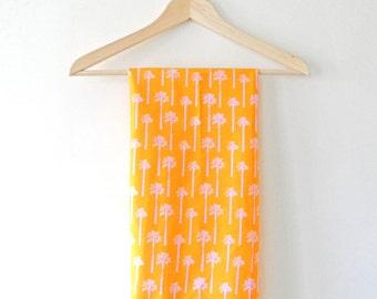 Sunny Palms Small Scale Print Tea Towel