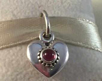 Pandora Treasured Heart Pendant