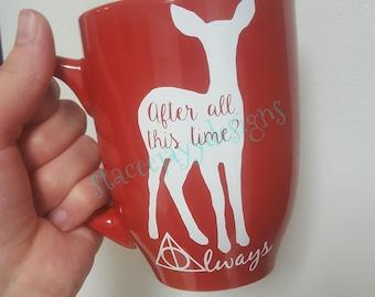 Always with doe mug