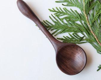 Hand Carved Walnut Spoon