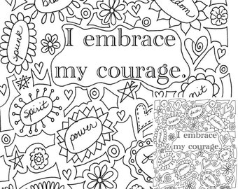 Self esteem coloring printable coloring pages for Self esteem coloring pages