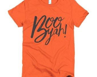 Boo Yah!- Halloween Shirt- Funny Halloween Tee- Funny Halloween Shirt, Halloween TShirt, Halloween Clothing, Womens Halloween Shirt