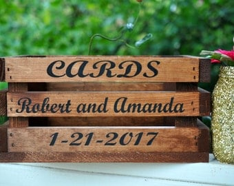 Wedding card box, wedding card holder, wedding card box with slot, wedding card mailbox, wedding card sign, wedding card basket, card box